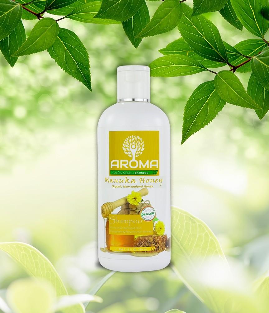 Certified Organic Shampoo-Manuka Honey